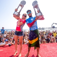 Vans US Open of Surfing Draws Record Crowds, Crowns Tatiana Weston-Webb and Filipe Toledo Champions