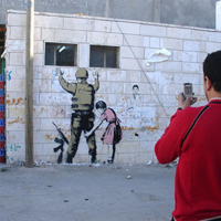 Banksy in the Middle East