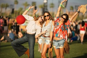 Festival Fashion highlights can be seen at Coachella. Photo by Refinery29.