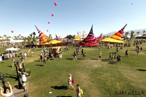 The Do Lab in the center of Coachella is among many other areas to chill and catch different music and shows including Lucent Dossier.
