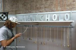 Han Cholo providing it's traditional big bling.