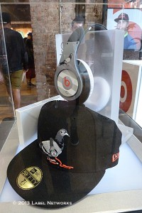 Beats by Dre offered up several unique collabs. This one with Staple.