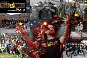 Rockstar Mayhem Festival images from past Medal of Honor programs. Photo by Rockstar Mayhem.