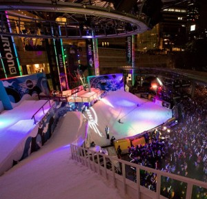 Burton's events have become a cross between competition and exciting entertainment.
