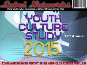 Label Networks' 15th Annual Spring Youth Culture Study 2015 has launched!