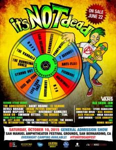 It's Not Dead Festival October 10, 2015.