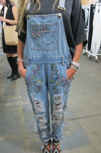 Denim styles from Capsule. Trends in denim are moving Coachella-style, and genderless.