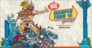 Vans Warped Tour announces new art, themes, dates, and band line-up.