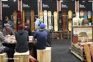 Arbor Snowboards at SIA 2015.