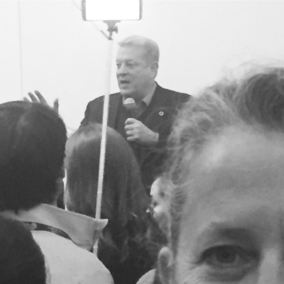 My Selfie with Mr. Gore.